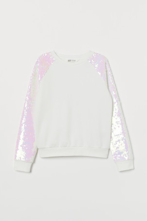 Sweater met pailletten