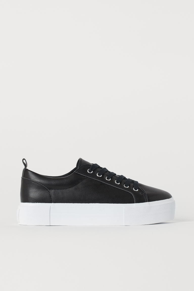 Plateausneakers - Zwart -  | H&M BE