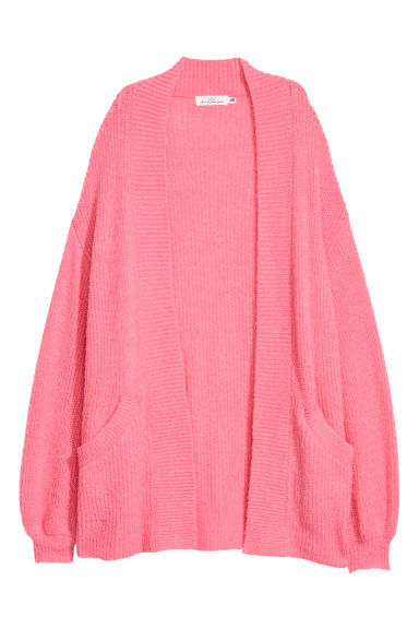 Knitted cardigan - Pink -  | H&M CN