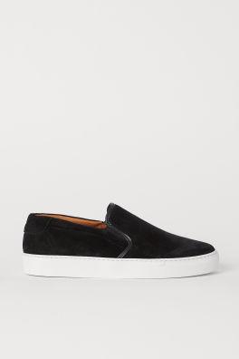 e18323859e42 Suede Slip-on Shoes