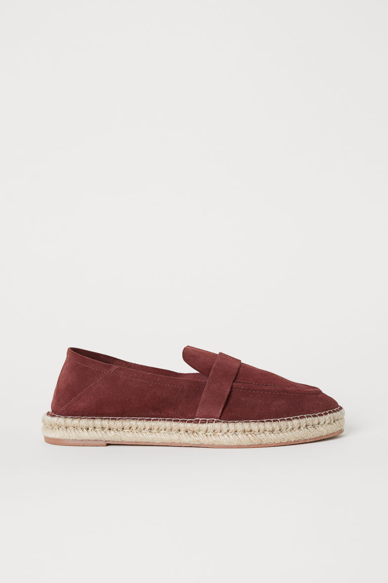 Espadrilles - Burgundy - Ladies | H&M