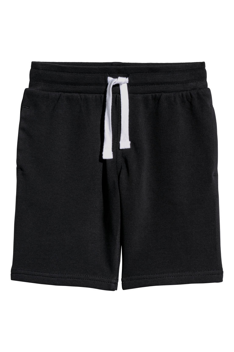 Sweatshirt shorts - Black - Kids | H&M
