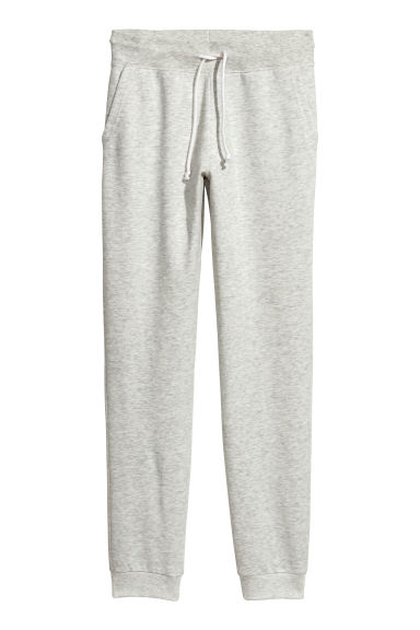 Sweatpants - Light grey marl -  | H&M
