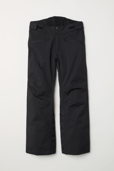 Padded outdoor trousers - Black -  | H&M