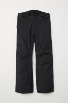 Padded outdoor trousers
