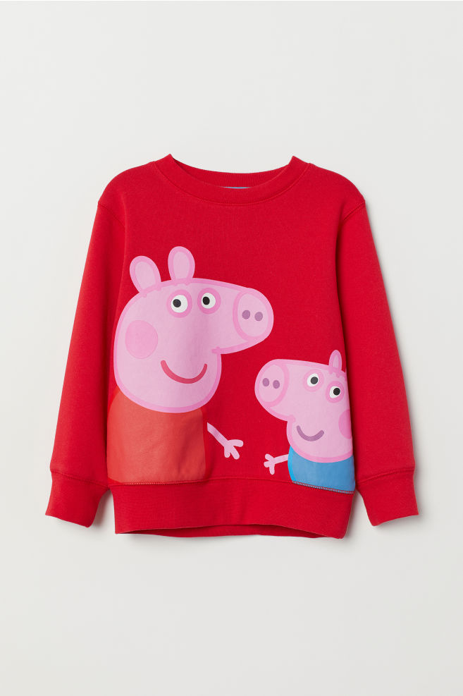 c1e30a4c81c92 ... 2 Sweatshirt with Printed Design - Red Peppa Pig - Kids