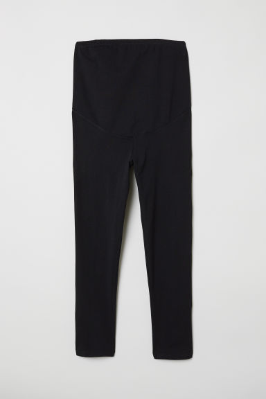 MAMA 3/4-length leggings - Black -  | H&M CN