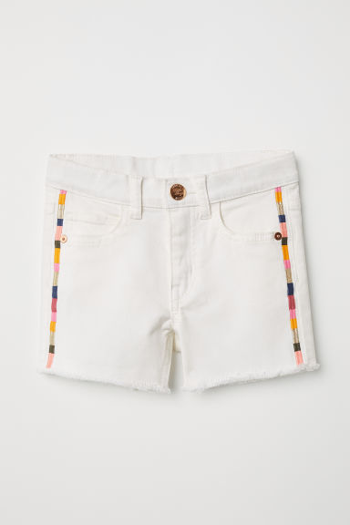 Shorts in twill - Bianco naturale -  | H&M IT