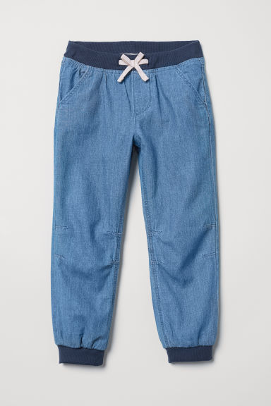 Lined joggers - Blue - Kids | H&M