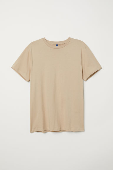 T-shirt - Beige - Men | H&M