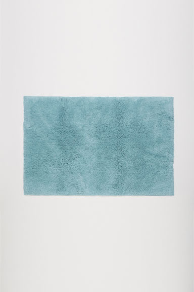 Bath mat - Light turquoise - Home All | H&M GB