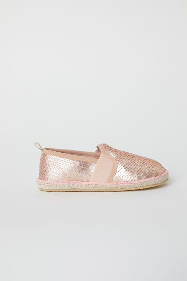 Espadrilles - Rose gold-coloured -  | H&M