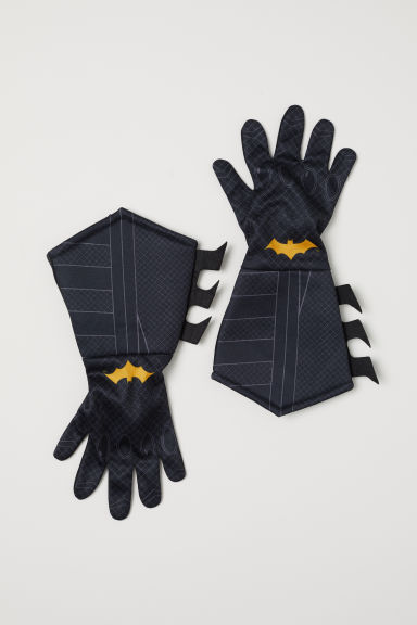 Superhero gloves - Black/Batman - Kids | H&M