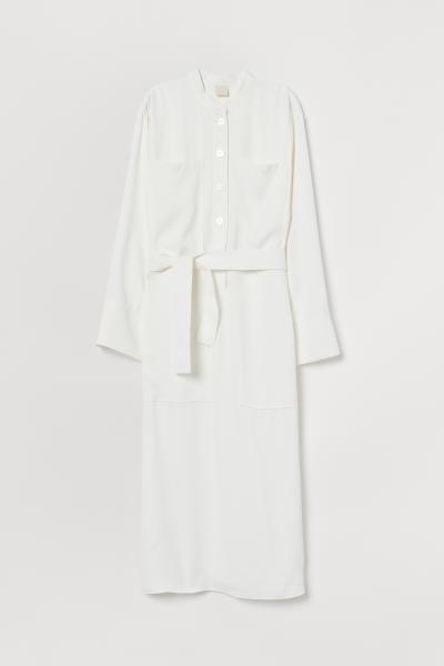 H&M - Vestido camisero con cinturón - 5