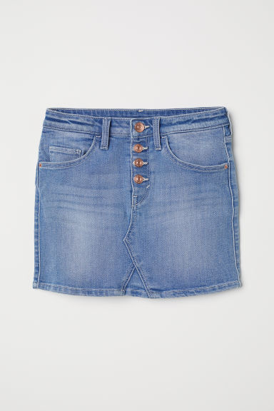 Gonna in denim - Blu denim - BAMBINO | H&M IT