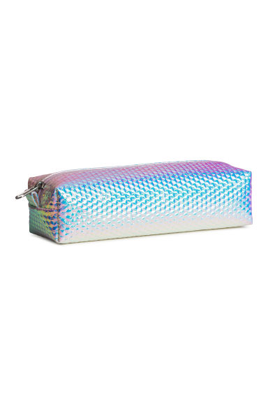 Pencil case - Light purple/Metallic -  | H&M GB