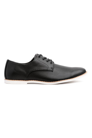 Derby shoes - Black -  | H&M