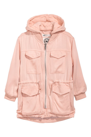 Viscose parka - Light pink - Kids | H&M