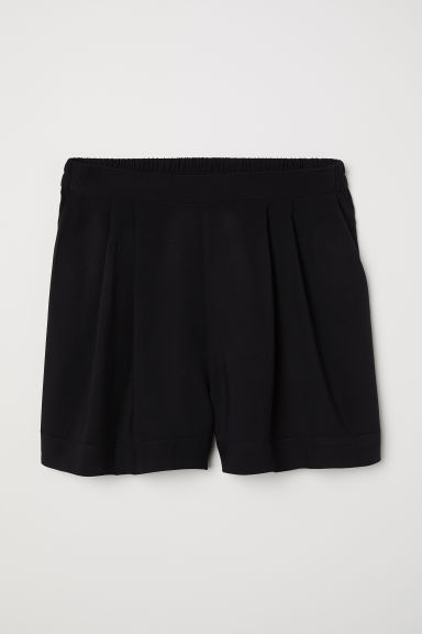 Wide shorts - Black -  | H&M