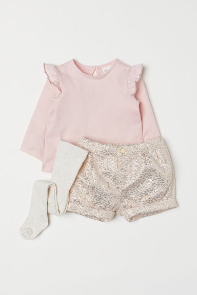 3-teiliges Set - Rosa - Kids | H&M AT