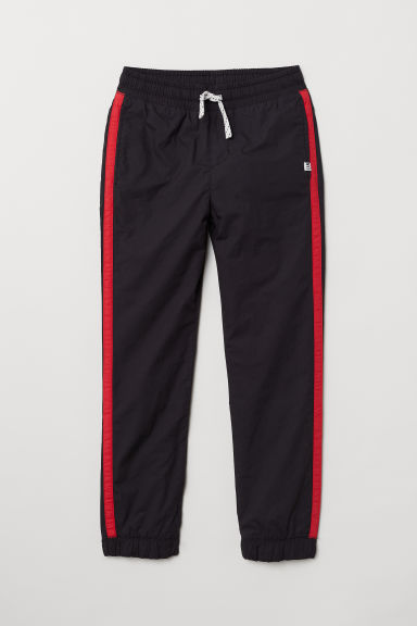 Lined joggers - Black - Kids | H&M