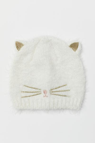 eff04a2e838 Hat with Cat Ears - White cat - Kids