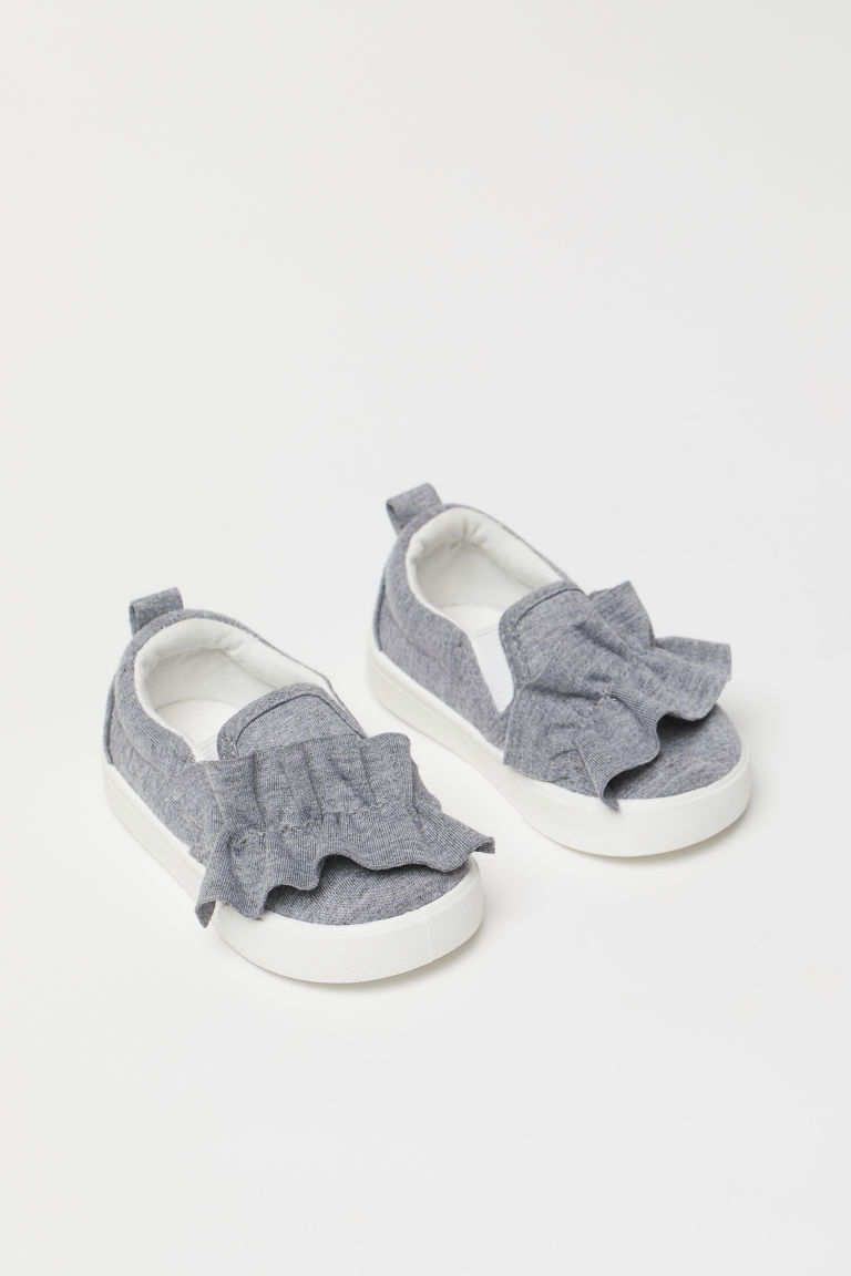 Slip-on Shoes - Gray melange - Kids | H&M US