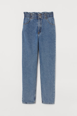 Tapered High Ankle Jeans