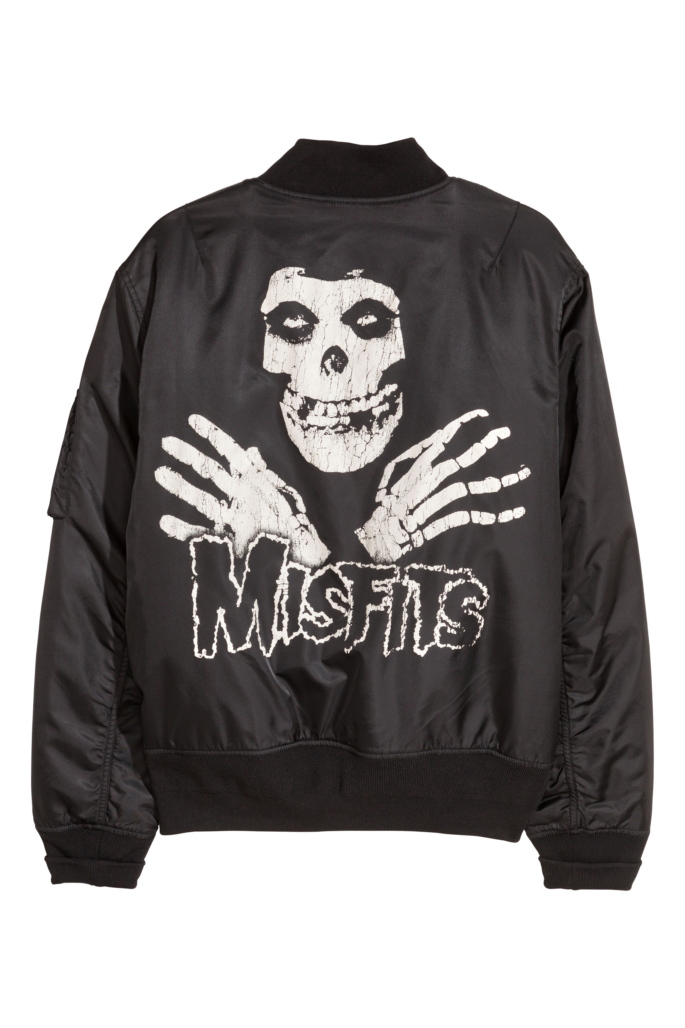 499ea3acc Printed bomber jacket