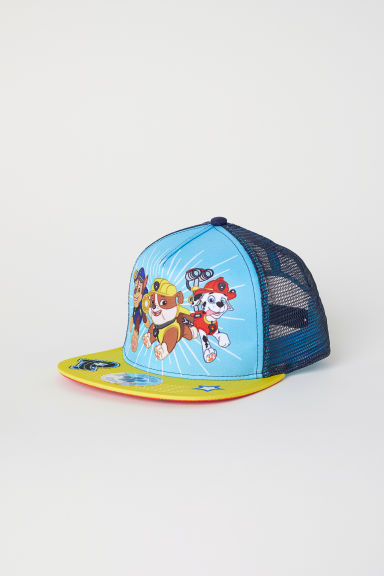 Cap with a motif - Dark blue/Paw Patrol - Kids | H&M CN