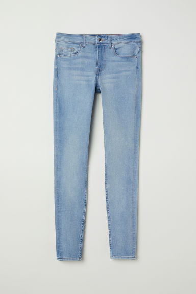 Petite Fit Super Skinny Jeans - Light denim blue -  | H&M