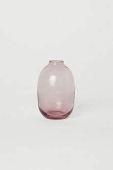 Clear Glass Mini Vase