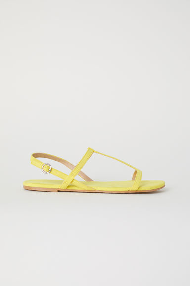 Sandals - Yellow -  | H&M GB