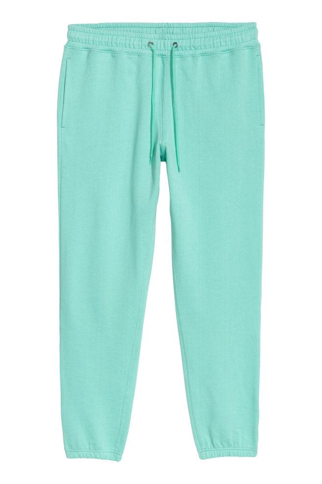 2b0632fa32 Pantalón de chándal - Verde menta - HOMBRE