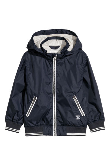 Nylon jacket - Dark blue -  | H&M CN