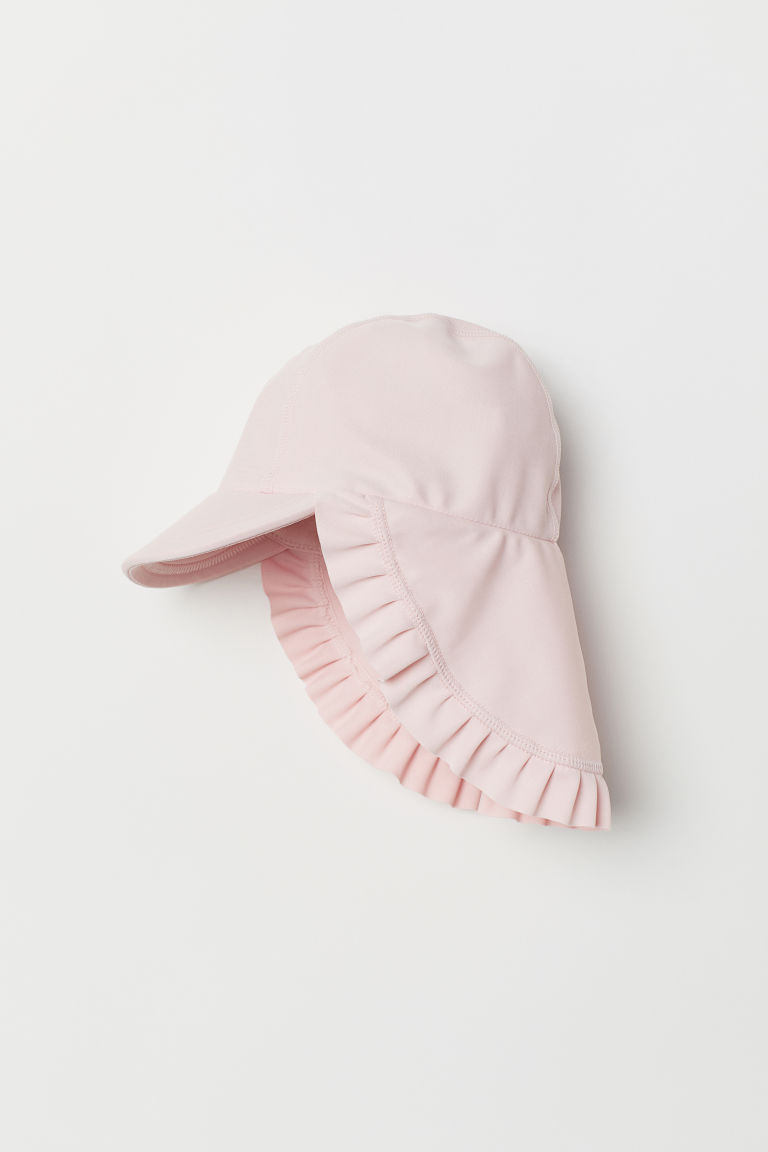 Sun cap with UPF 50 - Light pink - Kids | H&M