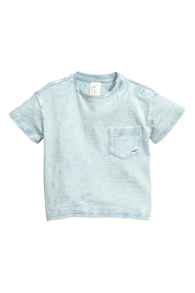 1b62e0ed15b Washed T-shirt - Light blue washed out - Kids