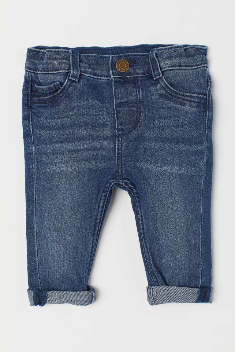Skinny Fit jeans - Dark denim blue -  | H&M