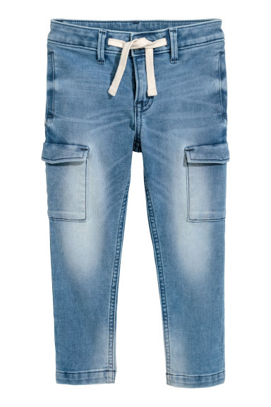 Super Soft Slim Fit Jeans - Bleu clair -  | H&M CH