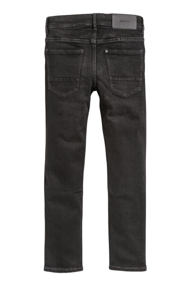 Superstretch Skinny Fit Jeans - Denim preto - CRIANÇA | H&M PT