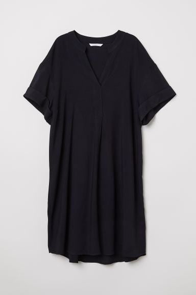 V-neck dress - Black - Ladies | H&M