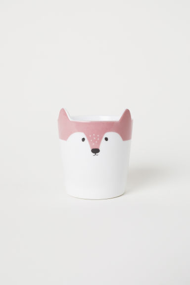 Cup with ears - Dark pink/Fox - Home All | H&M GB