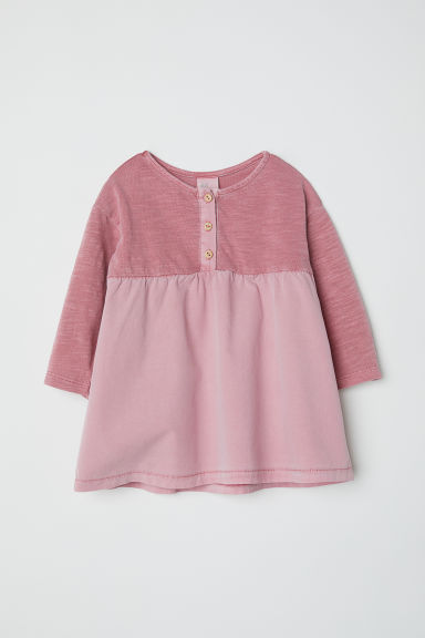 Cotton dress - Vintage pink - Kids | H&M CN