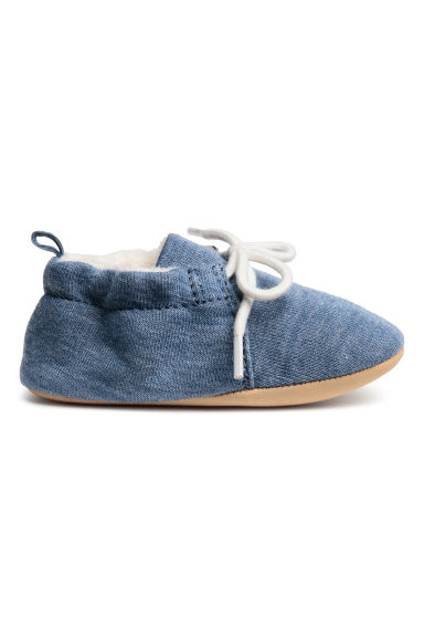 Soft slippers - Blue -  | H&M