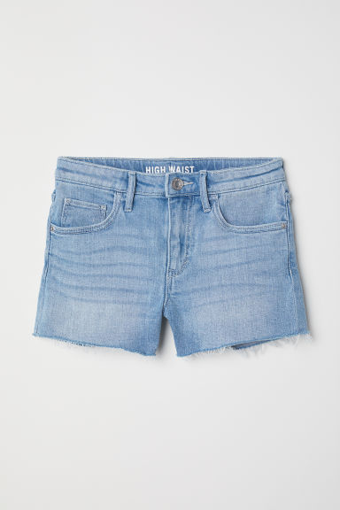 Vaquero corto High - Azul denim -  | H&M ES