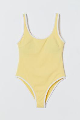 High Leg SwimsuitModel