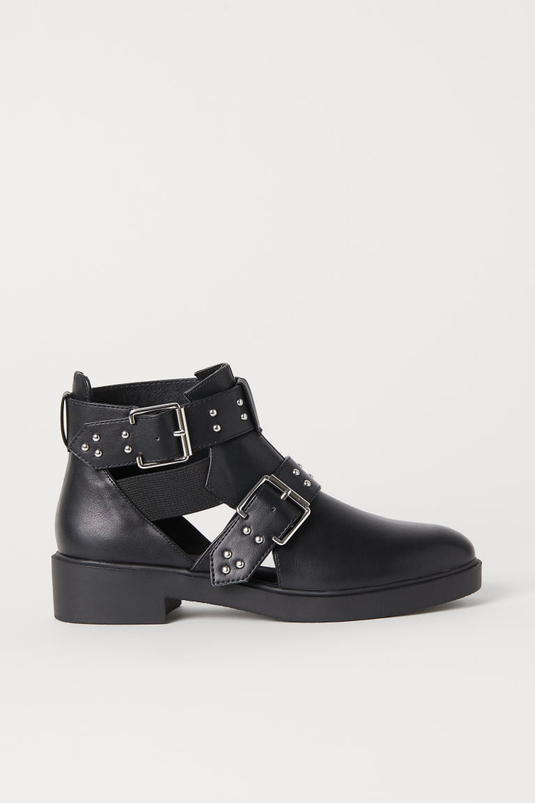 Open-sided Boots - Black - Ladies | H&M US