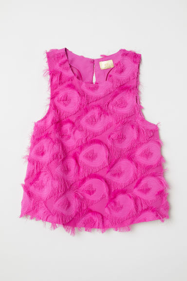 Top con flecos - Cereza -  | H&M ES