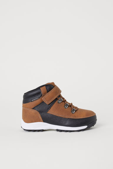Waterproof hi-tops - Light brown - Kids | H&M