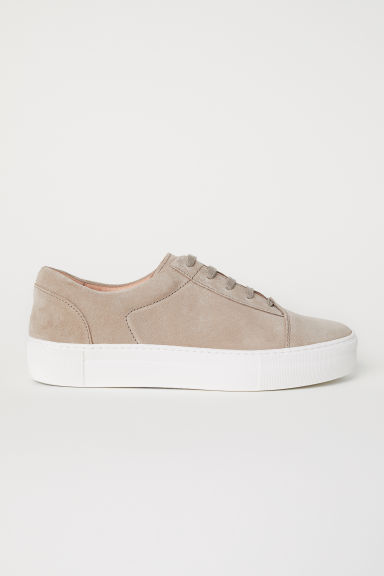 Trainers - Beige/Suede - Men | H&M CN
